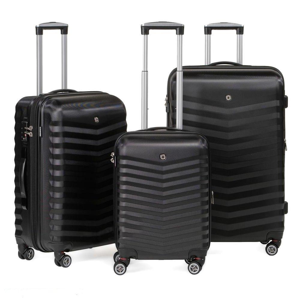 Купить пластиковый чемодан на колесах в Москве